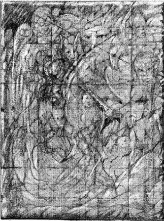3 Drawing Triptych Panel 1