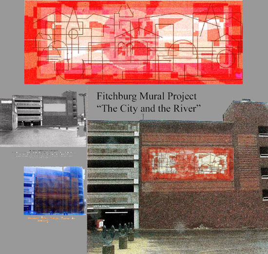 Fitchburg Mural Project collage by E. Thor Carlson