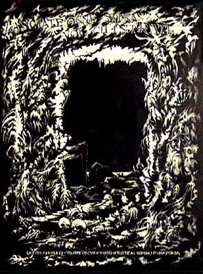 Gate of Hell - Dante's Inferno Art by E. Thor Carlson