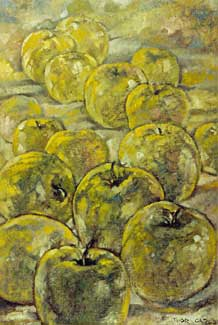 Green Apples by E. Thor Carlson