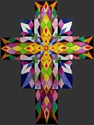 Fine Art Tapestry Cross Proposal 1 by E. Thor Carlson