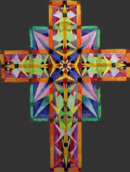 Fine Art Tapestry Cross Proposal 2 by E. Thor Carlson