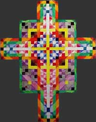 Fine Art Tapestry Cross Proposal 3 by E. Thor Carlson