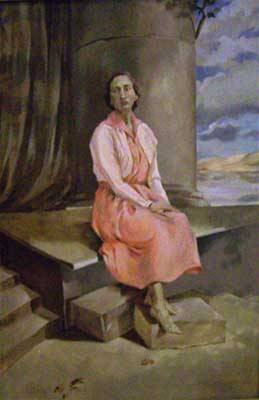 The Barefooted Contessa [Laura] - Portrait by E. Thor Carlson