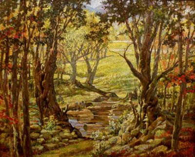 Fine Art Tree Paintings