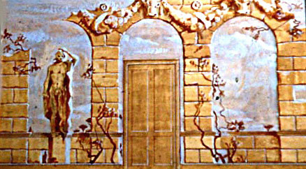 Wall Mural Presentation Sketch by E. Thor Carlson